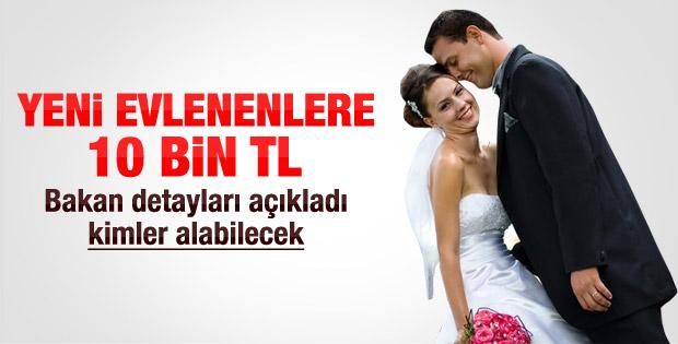 2014 yılı devlet destekli evlilik kredisi başvurusu ve şartları