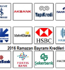 EN UYGUN BAYRAM KREDİSİ VEREN BANKALAR