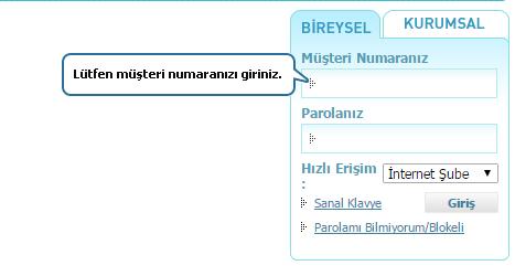 Halkbank İnternet Bankacılığı